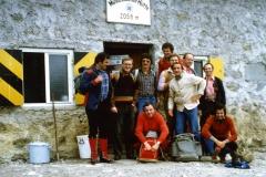 1977 1. Bergtour